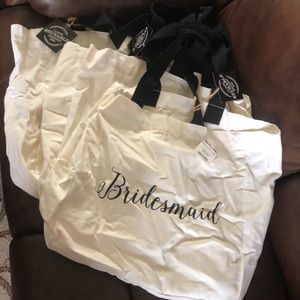 Handbags - Lot of 4 bridesmaid bags
